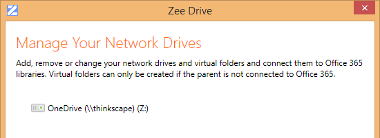 change onedrive folder location
